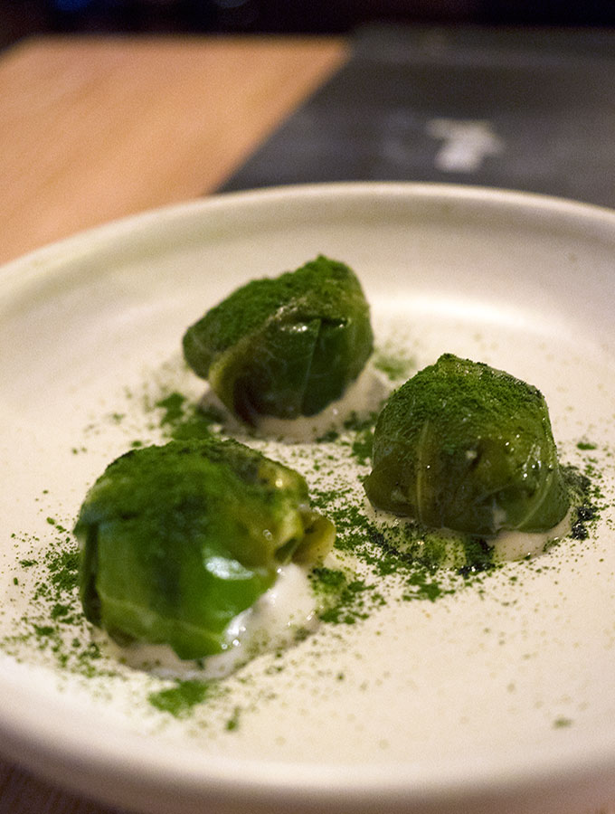 Yellow Potts Point Vegetarian Degustation