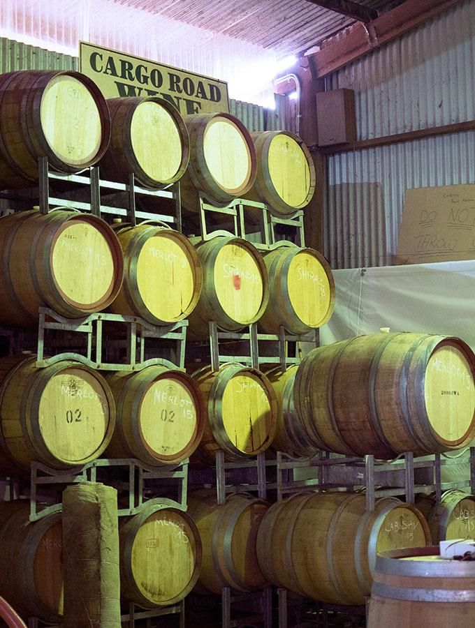 Orange F.O.O.D Week Cargo Road Wines