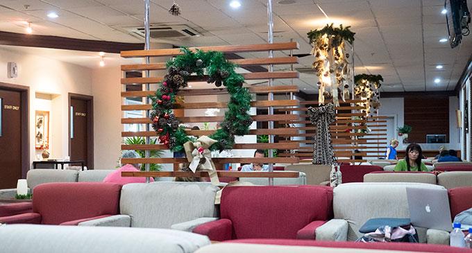 Fiji Airways Tabua Lounge