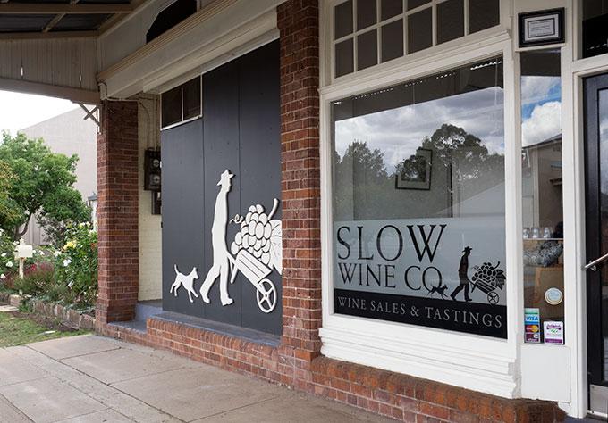 Orange F.O.O.D Week Slow Wine Co