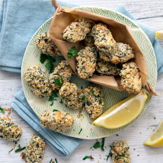 Zucchini Mushroom Croquettes – Oven Baked