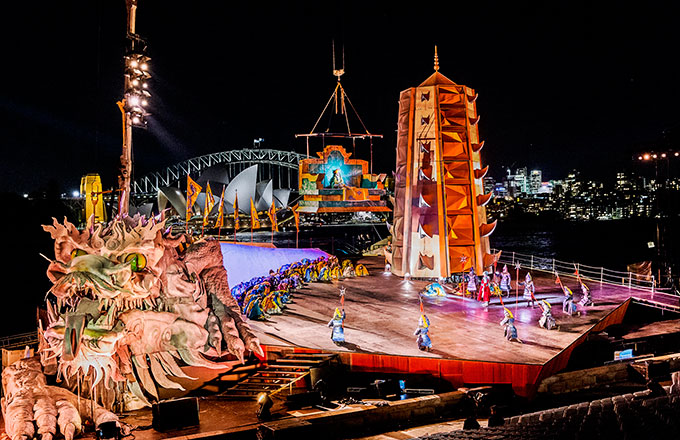 Handa Opera on Sydney Harbour Turandot