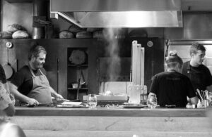 Firedoor Restaurant in Surry Hills, Sydney. All dishes are cooked via fire over various woods.