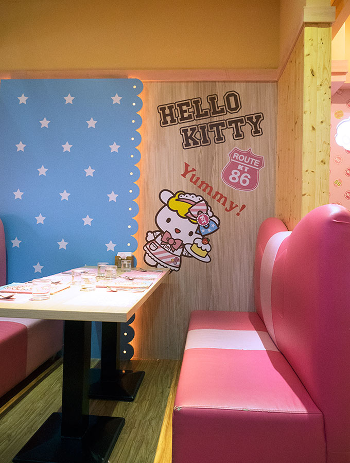 Hello Kitty Kitchen and Dining Taipei Taiwan