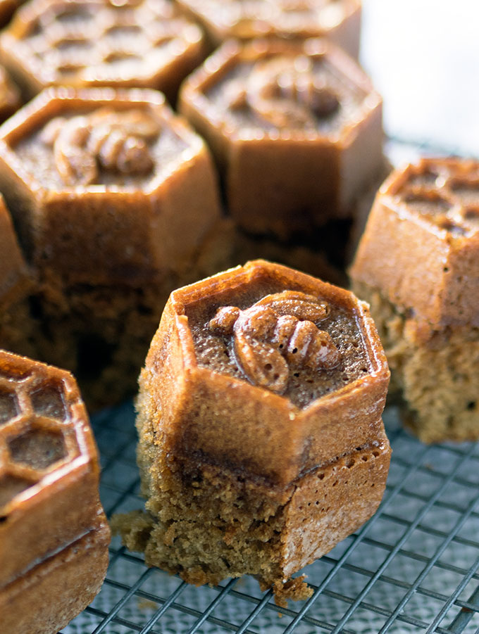 Honey Coffee Cake ~ Dairy Free and simply delicious