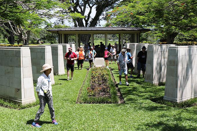 Rabaul Papua New Guinea - Bitapaka War Cemetary