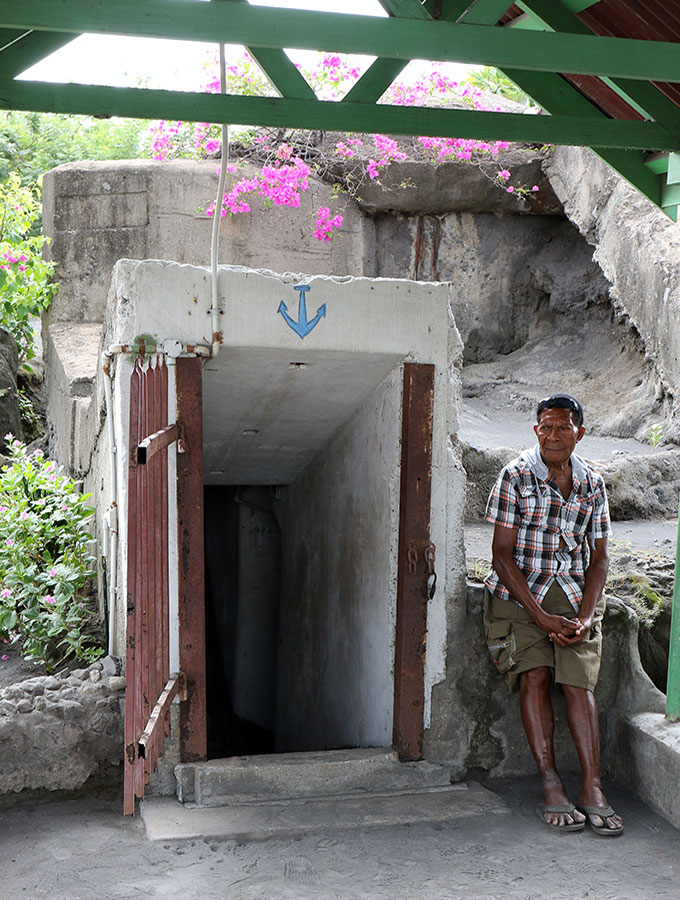 Rabaul Papua New Guinea - Admiral Yamamoto Bunker