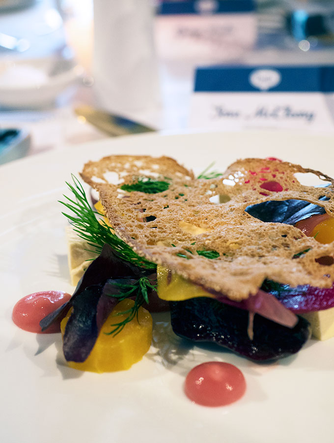 Bulla lunch, entree by George Calombaris
