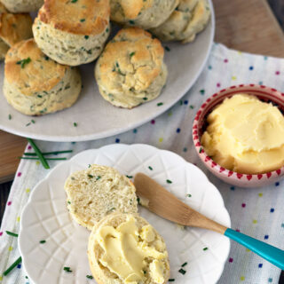 Buttermilk Chive Scones – George Calombaris' Recipe