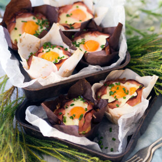 Ham & Egg Hash Brown Nests + Easily Remove Liquid from Grated Potato