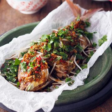Thai Style Deep Fried Whole Fish