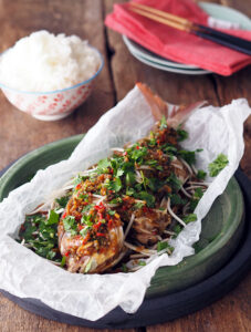 Thai Style Deep Fried Whole Fish