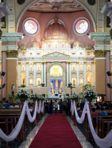 The Oldest Chinatown in the World, Binondo Manila – Binondo Church is also known as Minor Basilica of Saint Lorenzo Ruiz and Our Lady of the Most Holy Rosary Parish. A great place to start your eating tour of Binondo Manila.