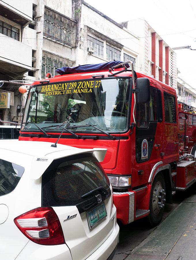 The Oldest Chinatown in the World, Binondo. Chinatown Food Tour Manila – Fire Trucks are everywhere in Binondo!