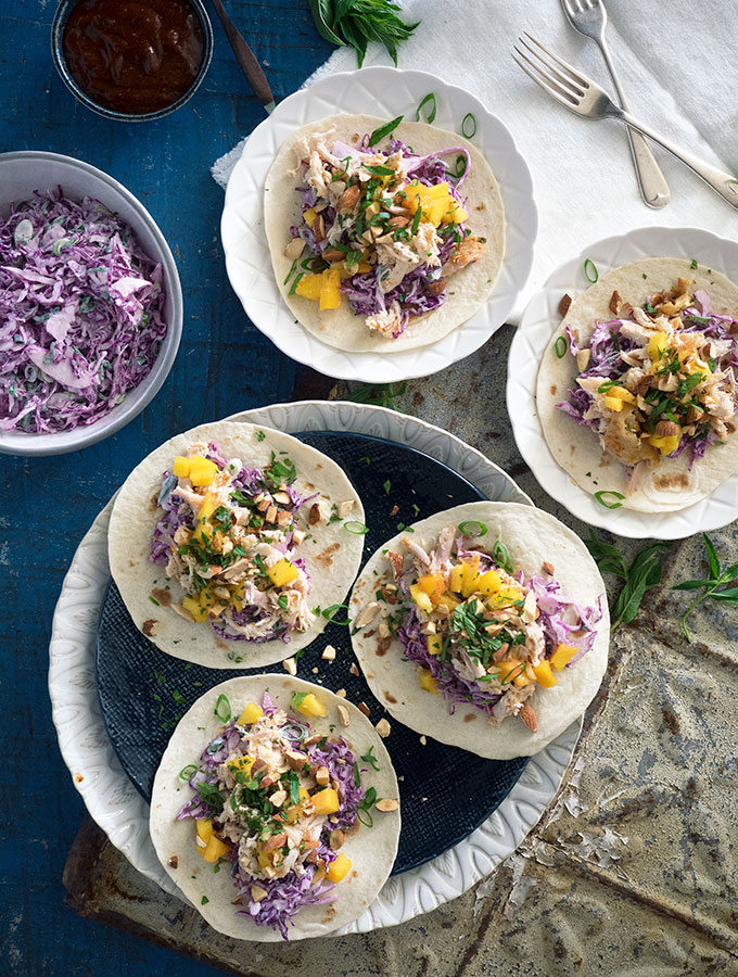 Easy Taco Recipe with a Moroccan Twist: Have a delicious and healthy dinner on the table in 10 minutes