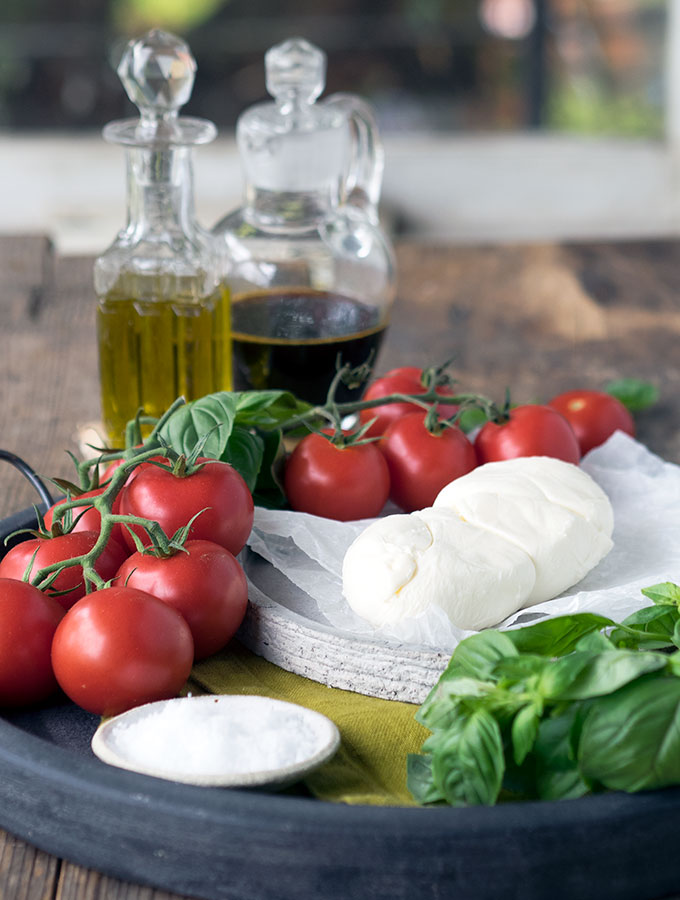 Tomato, Mozzarella, Basil Salad Recipe and a look at the Australian Grand Dairy Awards Winners