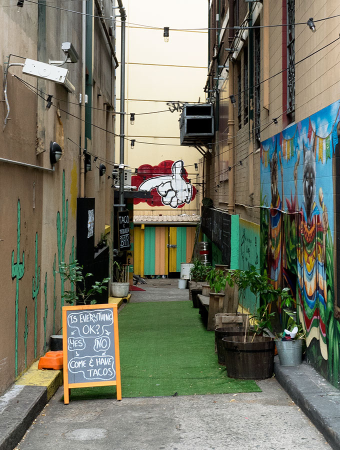The Two Wolves Community Cantina, Chippendale, Sydney: A not for profit eatery and bar which supports The Cardoner Project