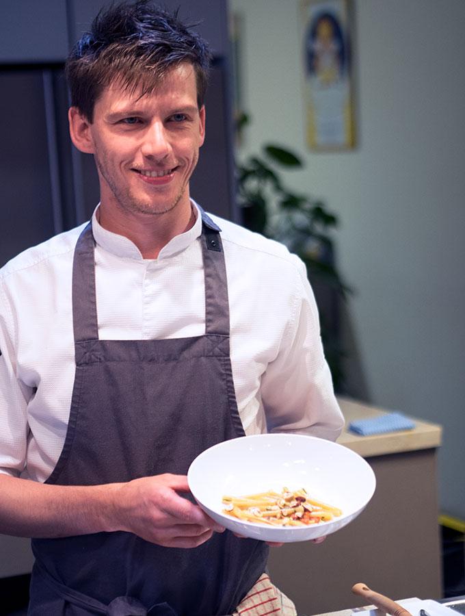 Casa Barilla Cooking Masterclass with Matteo Zamboni
