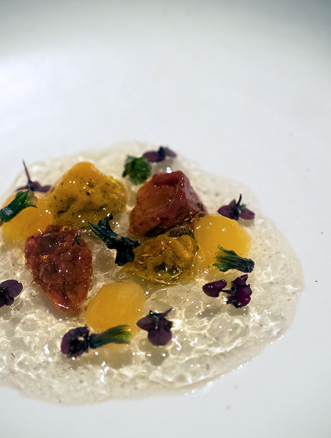Fine dining restaurant Clooney, in Freemans Bay in Auckland. Tony Stewart's establishment showcases local New Zealand producers with a touch of Japanese flair by Jacob Kear