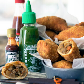 Filipino Empanadas, using a secret ingredient!