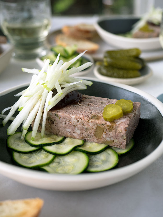 Pork, Duck & Fig Terrine Recipe. Making this terrine you will feel like a Master of Charcuterie. Packed with flavour and as easy as making a meatloaf.