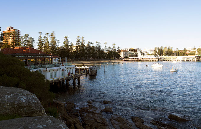 The Bistro at Manly Pavilion offers stunning views of Sydney Harbour and delicious dishes. Definitely one of Sydney's best places to eat.