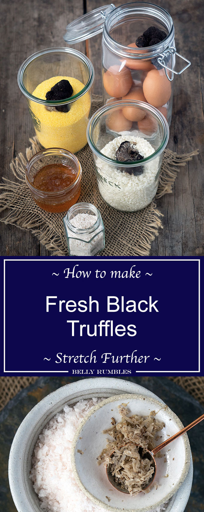 Fantastic tips on how to make fresh black truffles stretch further
