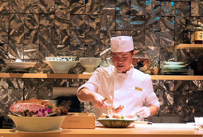 Nami Restaurant Shangri-La Hotel Singapore