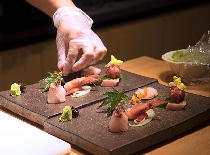 Nami Restaurant and Bar Chef Akiba Omakase Menu
