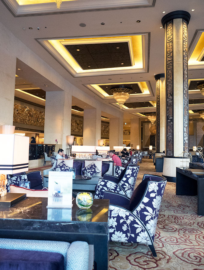 The Lobby Lounge Shangri-La Hotel Bangkok