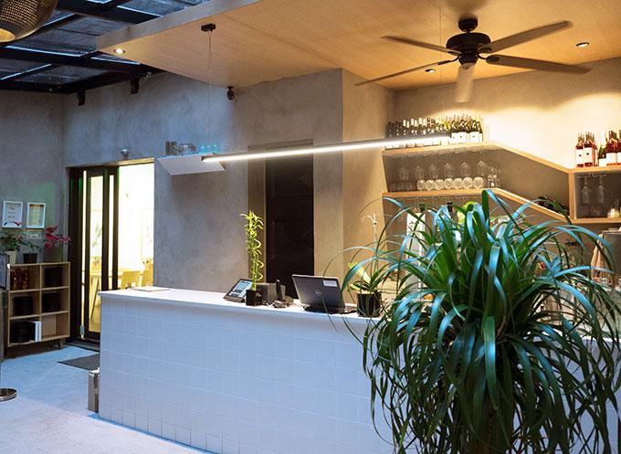 The Kimchi Project Auckland CBD, New Zealand. Light and airy Korean fusion restaurant.