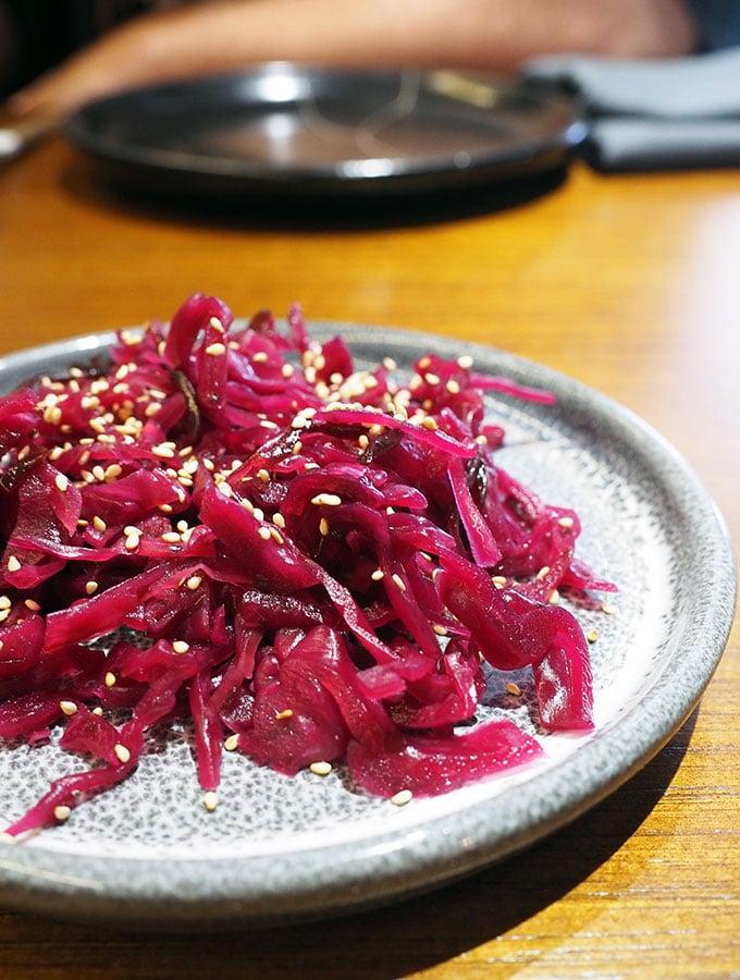 Kid Kyoto Omakase: Cabbage & konbu pickle