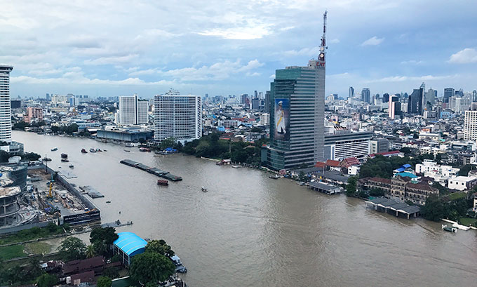 Deluxe Suite view, the Peninsula Hotel Bangkok, The Peninsula Hotel Bangkok is a tranquil escape situated on the Chao Phraya River