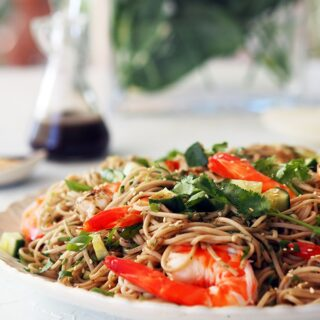 Quick & Easy Recipe: Prawn and Soba Noodle Salad