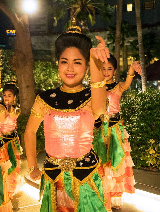 Thai daning Salathip Thai Restaurant Shangri-La Bangkok