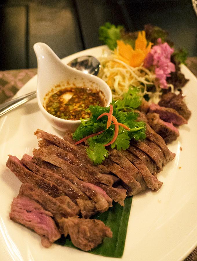 NUEA YANG THAI DERM Salathip Thai Restaurant Shangri-La Bangkok