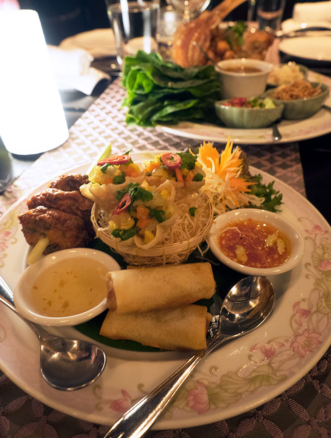 Entree Salathip Thai Restaurant Shangri-La Bangkok