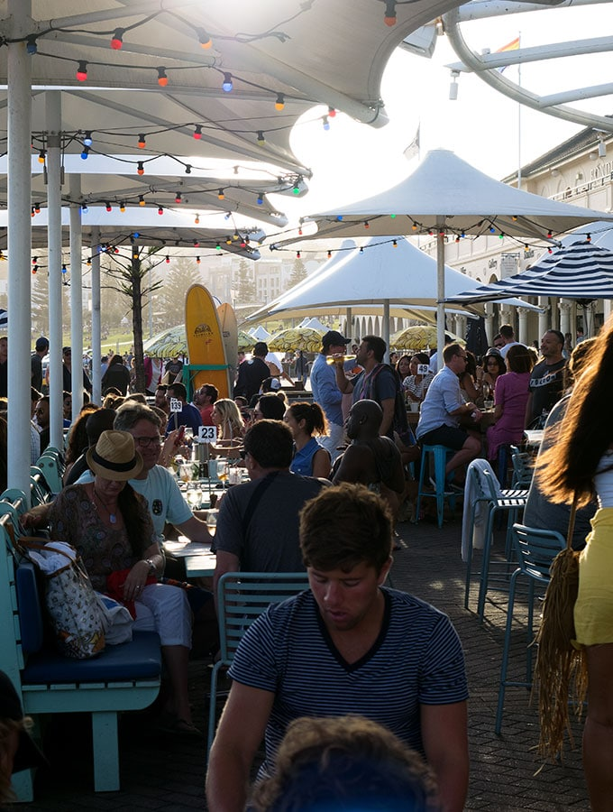 The Bucket List Bondi Beach, Dog Friendly Restaurant Sydney