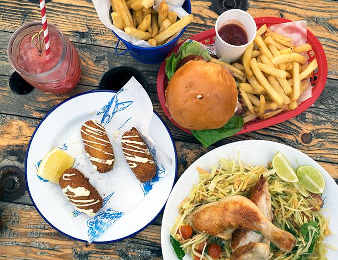 What to eat at The Bucket List Bondi Beach Sydney Australia