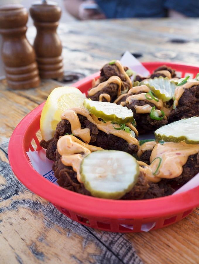 Buttermilk Fried Chicken, The Bucket List Bondi Beach, Dog Friendly Restaurant Sydney