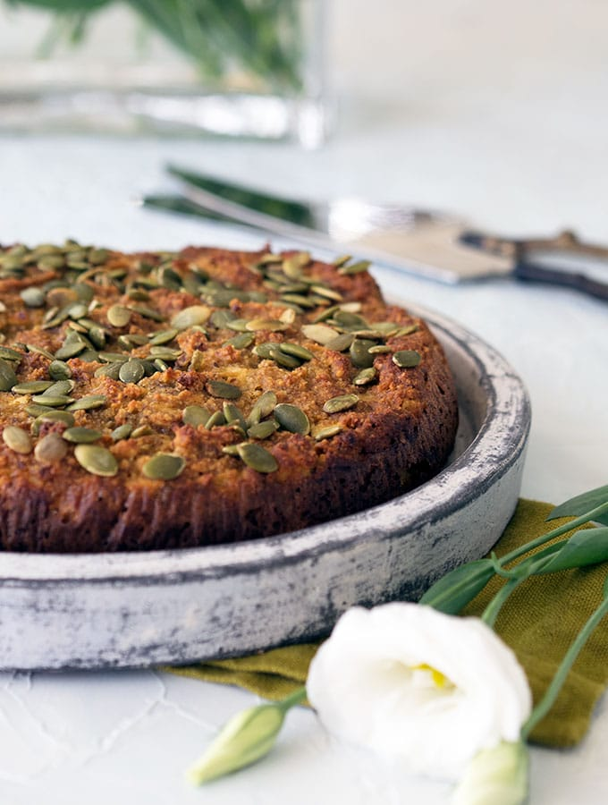 Honey Apple and Almond Cake Recipe which is gluten free