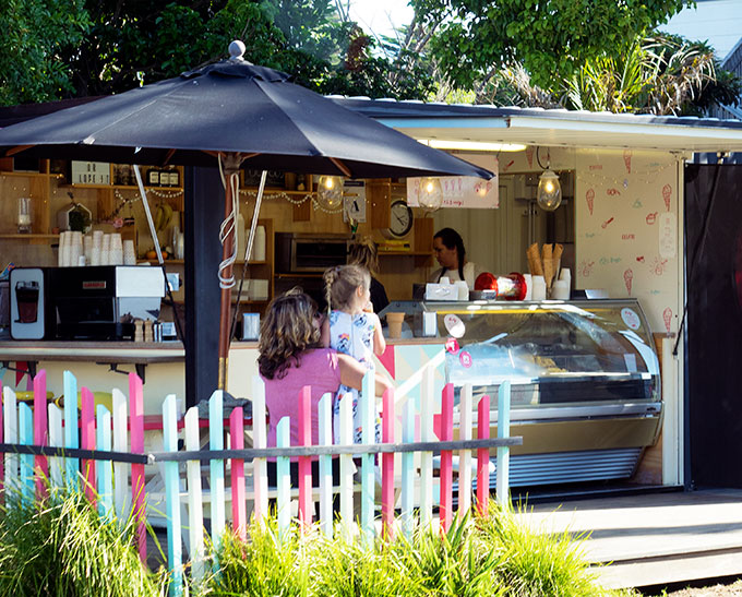 Ice cream at Waiheke Island