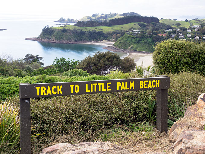 Lots of places to tramp on Waiheke Island in New Zealand