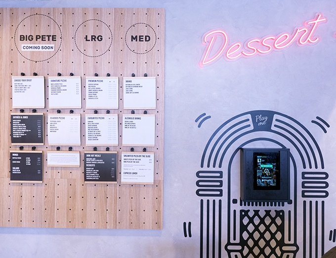 Dessert Hut at Pizza Hut's New Concept Store Waterloo