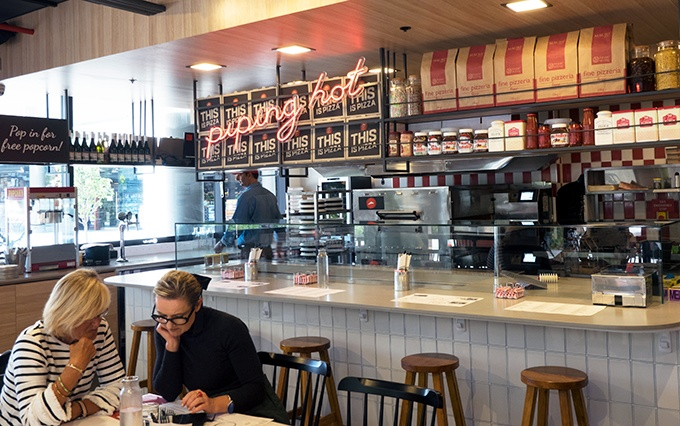 What the Pizza Hut's New Concept Store Waterloo looks like