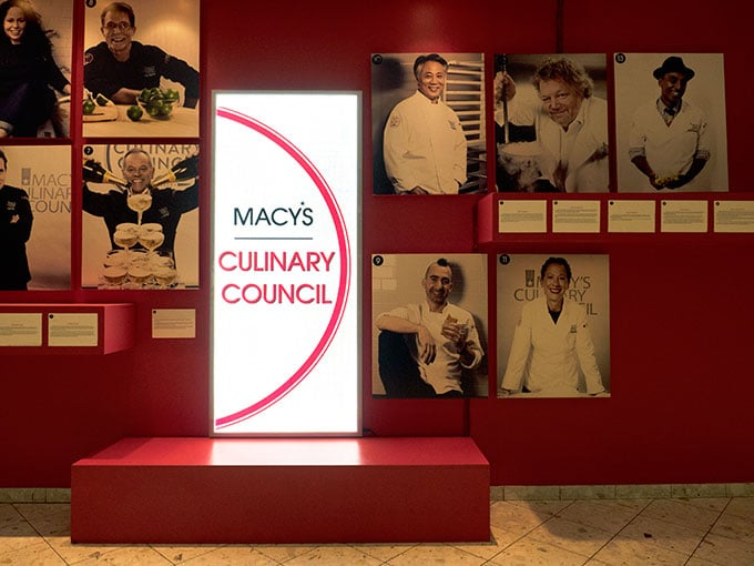 The Chefs who are members of Macy's Culinary Council
