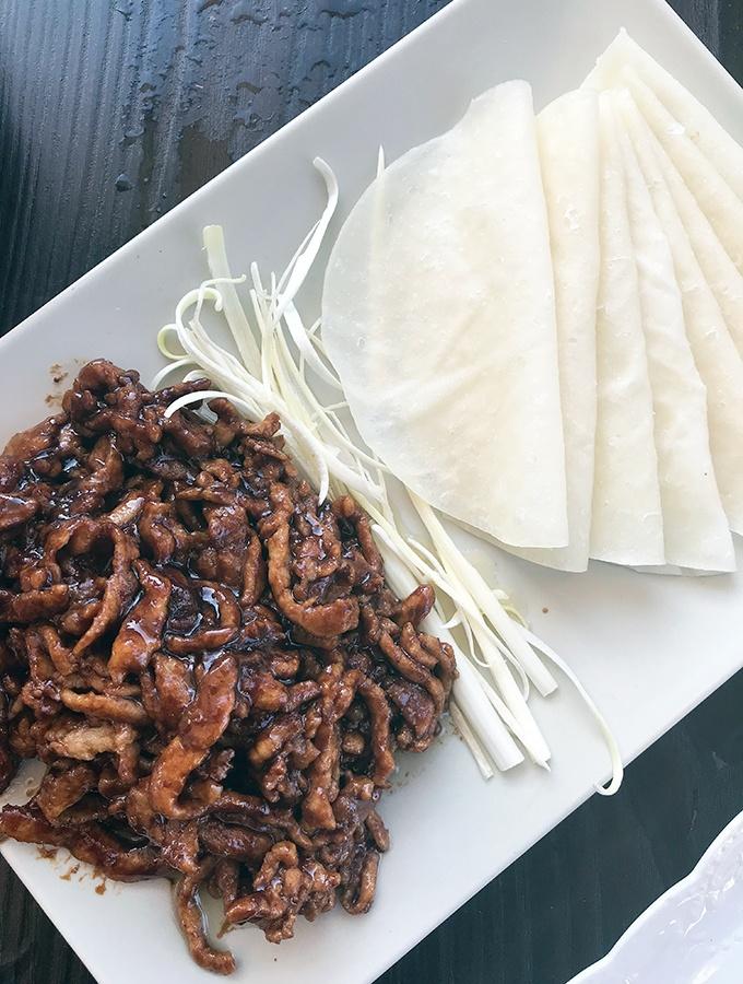 Seaside Dumplings Cronulla - Crispy Fried Pork Fillet with Pancakes