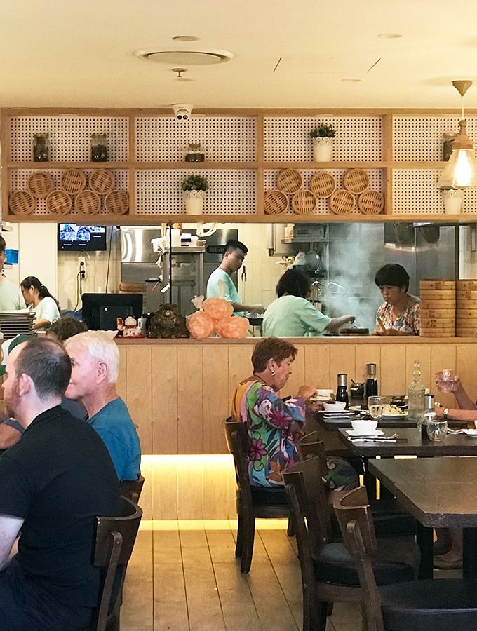 Seaside Dumplings Cronulla - Open Kitchen