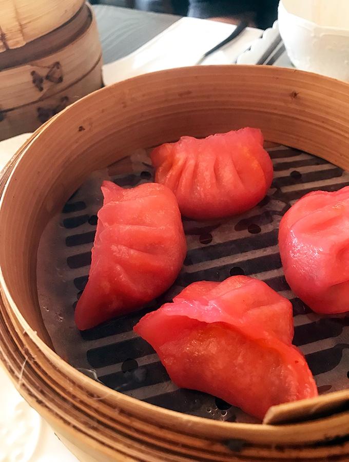 Seaside Dumplings Cronulla - Kimchi Prawn Dumplings