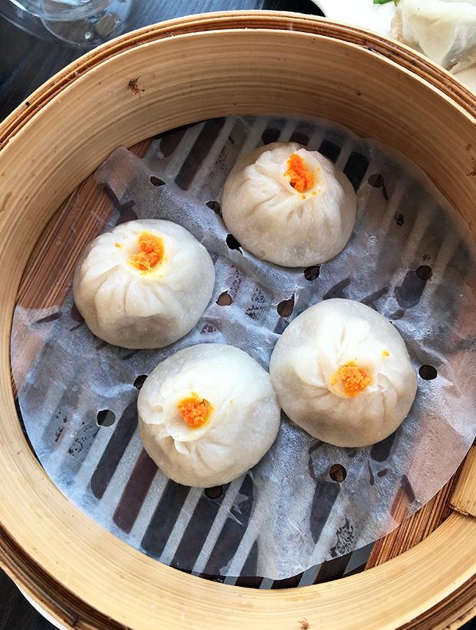 Seaside Dumplings Cronulla - Steamed Prawn Dumplings with Crab